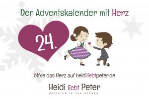 Adventskalender mit Herz...24.12.
